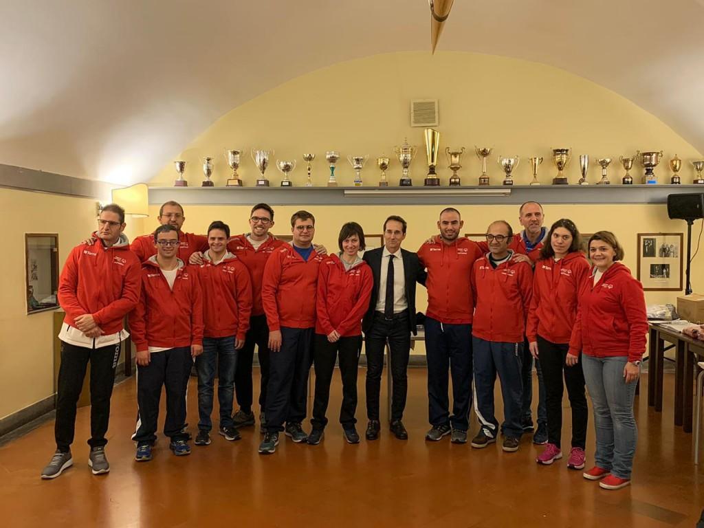 Nazional Italiana Special Olympics Indoor Rowing